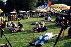 Folkwoods Festival ground 2000