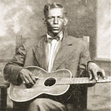 Charley Patton, one of the originators of the Delta blues style