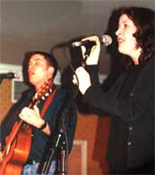 Brian Ó hEadhra & Fiona Mackenzie, photo by The Mollis